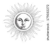 Drawing The Sun Stylized...