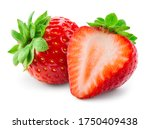 Strawberries Isolated....