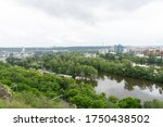View Of The Vltava River In...