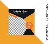social media post design... | Shutterstock .eps vector #1750440302