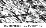 seamless black and white grunge ... | Shutterstock .eps vector #1750459442