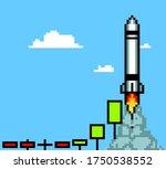 candle stick graph. market...   Shutterstock .eps vector #1750538552