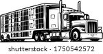 Cattle Truck Illustration...