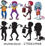 Different Character Of Zombies...