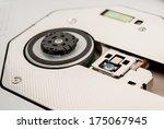 laser head of cd dvd drive ... | Shutterstock . vector #175067945
