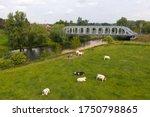 Railroad Bridge Accross River...