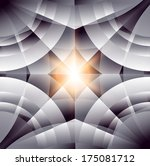 abstract geometric background   Shutterstock .eps vector #175081712