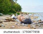 Rocky Shore Of The Baltic Sea...