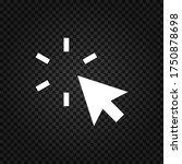 cursor icon.mouse cursor vector....   Shutterstock .eps vector #1750878698