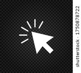 cursor icon.mouse cursor vector....   Shutterstock .eps vector #1750878722
