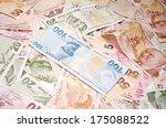 A Mixture Of Turkish Lira...