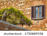 Facade With Window Of An Old...