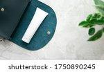 moisturizer cream for hand on...   Shutterstock . vector #1750890245