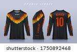 t shirt sport design template ...   Shutterstock .eps vector #1750892468