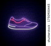 Trainers Neon Sign. Stylish...