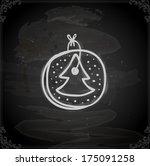 cute hand drawn vector...   Shutterstock .eps vector #175091258