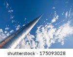 spire  dublin city | Shutterstock . vector #175093028