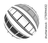 film  sphere | Shutterstock .eps vector #175094432