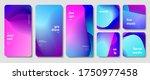 trendy gradient minimalist... | Shutterstock .eps vector #1750977458