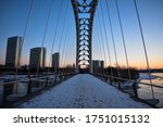 Humber Bay Arch Bridge In A...