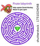 Pirate Labyrinth. Help Captain...