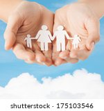 family and relations concept  ... | Shutterstock . vector #175103546