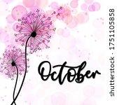 The Calendar Month October...