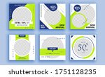 set of sale banner template... | Shutterstock .eps vector #1751128235