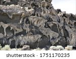 Close View Of A Section Of The...