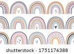 seamless repeat pattern in... | Shutterstock .eps vector #1751176388