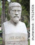 Rome  Italy. Bust Statue Of...