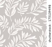 floral seamless pattern with...   Shutterstock .eps vector #175139498