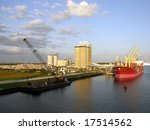 port canaveral filled in the...