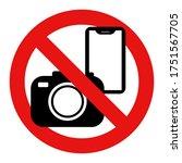 no photography  smartphone ... | Shutterstock .eps vector #1751567705
