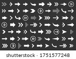 set of arrows collection in... | Shutterstock .eps vector #1751577248