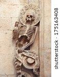 Skeleton On Church Of Purgator...