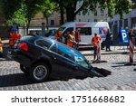Riga Latvia   June 5  2020  Car ...