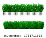 bush in the form of a green...   Shutterstock .eps vector #1751711918