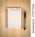 to do list for 2014 may | Shutterstock . vector #175173266