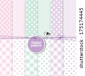 Baby Shower Design Elements  ...