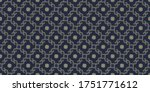 Moroccan Tile Pattern Ditsy...