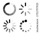 loading. loading vector icons... | Shutterstock .eps vector #1751797925