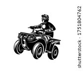 atv logo vector  quad bike... | Shutterstock .eps vector #1751804762