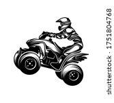 atv logo vector  quad bike... | Shutterstock .eps vector #1751804768