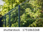 Grating wire industrial fence...