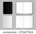 notebook. notebook realistic... | Shutterstock .eps vector #1751877818