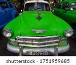 Havana Cuba May 2019  A Green...
