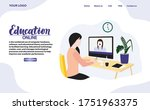 set of web page design for...