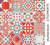 antique mexican talavera...   Shutterstock .eps vector #1751990975