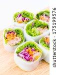 spring rolls | Shutterstock . vector #175199576